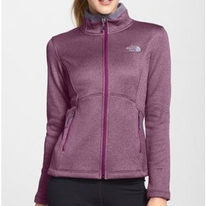 The North Face Agave Fleece Jacket - Purple
